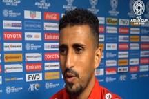 الصاصی: در فوتبال نتیجه قابل پیش بینی نیست/ایران تیم بزرگ و پرافتخاری است