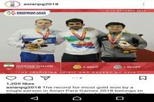 شناگر پرمدال ایران بهترین ورزشکار بازیهای پاراآسیایی شد+عکس