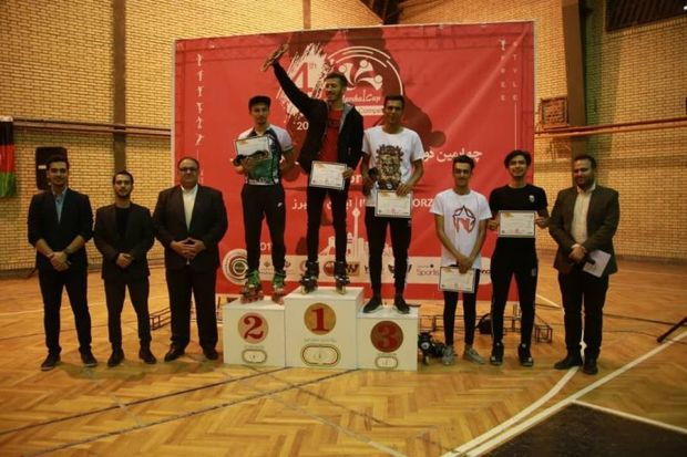 درخشش ورزشکاران ایرانی در رقابتهای اسکیت بین المللی البرز
