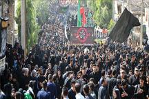 شور حسینی در پایتخت وحدت