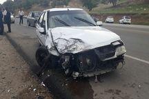 تصادف در جاده یاسوج به بابامیدان 4 مصدوم بر جا گذاشت