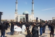 جلوههای ویژه عزاداری مردم قم در اربعین حسینی