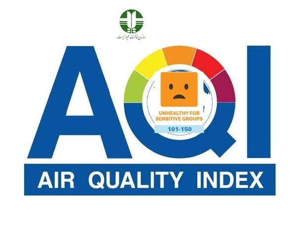 کیفیت هوای مشهد در وضعیت هشدار است