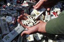 97780 نخ سیگار قاچاق در بیجار کشف و ضبط شد