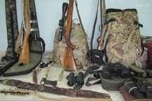 دو شکارچی متخلف در شهرستان سربیشه دستگیر شدند