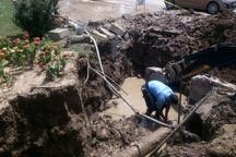 بازسازی خطوط آب گناوه بموقع انجام شود