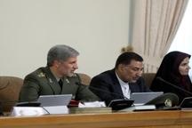 وزیر دفاع: در حوزه موشکی پیش خواهیم رفت و تحت تاثیر هیچ نوع فشاری قرار نخواهیم گرفت