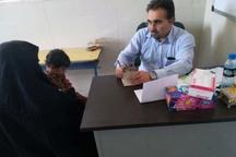 هزار نفر در روستای بزپیران ایرانشهر ویزیت رایگان شدند