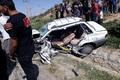 سانحه رانندگی در محور بجنورد- آشخانه 2 کشته داشت