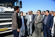 معاون وزیر کشور از بازارچه مرزی کوهک سراوان بازدید کرد
