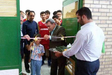 بهسازی سالن ورزشی آموزش و پرورش گنبدکاووس