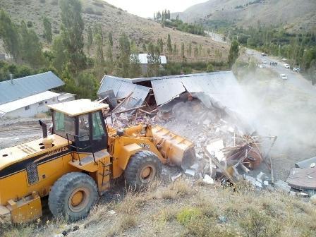آزاد سازی اراضی شهرستان های فیروزکوه و ملارد از دست متصرفان