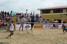 مسابقات والیبال ساحلی کارگران کشور در گنبد برگزار می شود