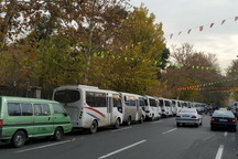 رانندگان مینی بوس در پایتخت باز تجمع کردند