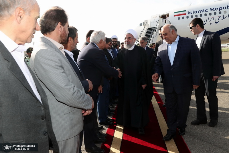 سفر روحانی به کرمانشاه