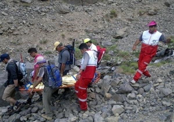 جان باختن کوهنورد نراقی بر اثر سقوط از ارتفاعات کوه ال