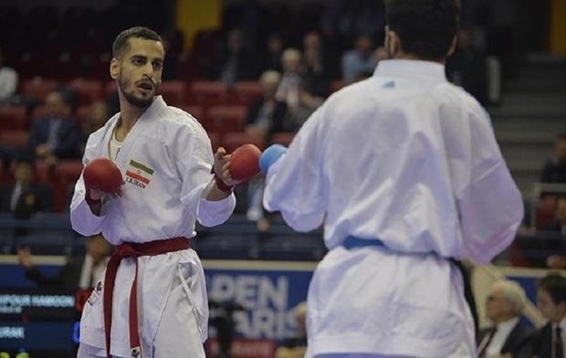 کاراته کا کرمانشاهی مدال برنز مسابقات جهانی را کسب کرد