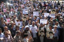 نمازگزاران جمعه در بیرجند جنایات علیه مسلمانان میانمار را محکوم کردند