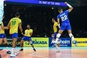 واکنش FIVB به باخت تیم ملی والیبال ایران برابر برزیل