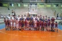 قهرمانی تهران در مسابقات بسکتبال نونهالان منطقه یک کشور