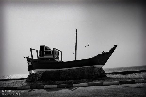 سایه خشکسالی بر سر بوشهر + عکس