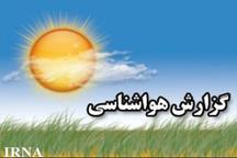 کاهش چهار درجه ای دمای هوا در زنجان