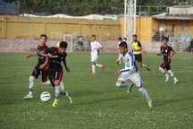 مرحله نهایی لیگ دسته یک فوتبال نوجوانان کشور در میناب آغاز شد