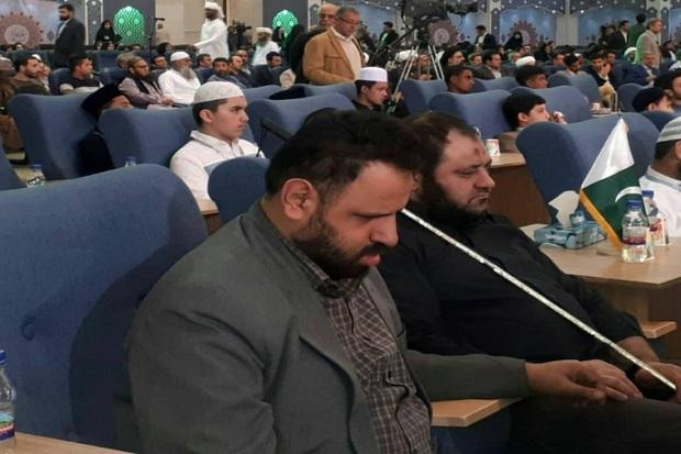 حافظ روشندل قزوینی در مسابقات نابینایان جهان اسلام درخشید
