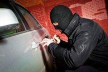 سارق لوازم داخل خودرو دستگیر شد