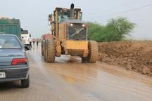 تجهیزات راهداری هفت استان کشور به کمک سیل خوزستان آمدند