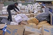 کشف 700 میلیون ریال کالای قاچاق در مرزهای آذربایجان غربی