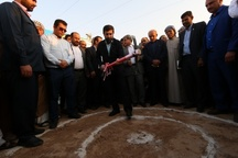 کلنگزنی پروژه آبرسانی به 16 روستای بخش مشراگه شهرستان رامشیر