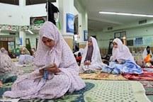 7 بانوی خادم مساجد و تکایای گناوه تجلیل شدند