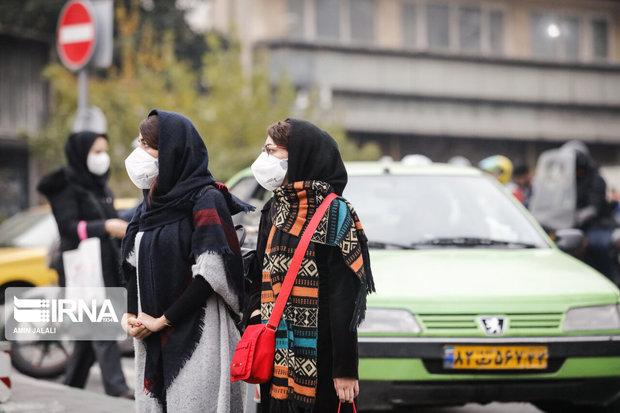 هوای پنج شهر خوزستان آلوده است