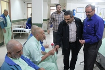 دیدار جمعی از رزمندگان گردان امیرالمومنین(ع) با جانبازان ضایعه نخاعی خوزستان