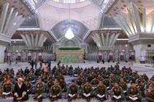 محفل انس با قرآن در حرم امام راحل برگزار شد