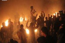 یک شهید و ۵ زخمی در تظاهراتهای شبانه در غزه