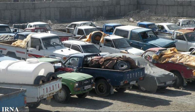 افزون بر 200 خودروی پلاک مخدوش در سیستان و بلوچستان توقیف شد