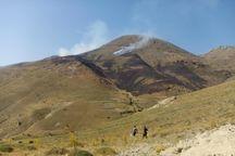 آتش سوزی  ۱۵ هکتار مراتع فریدن اطفا شد