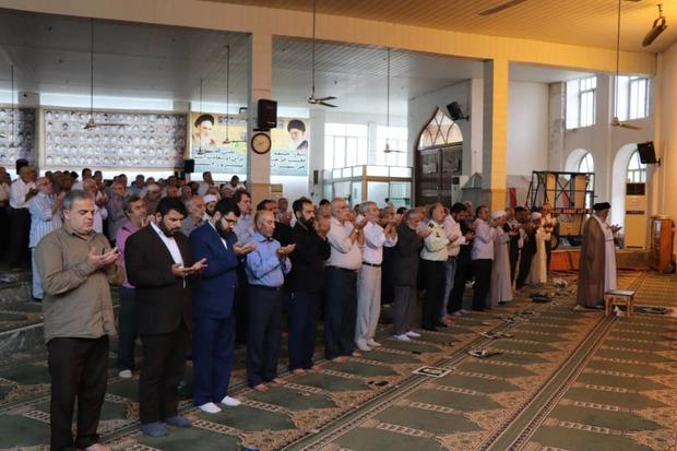 اقامه نماز عید سعید قربان در مازندران