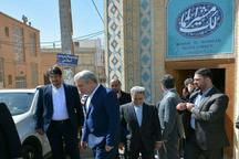 بازدید معاون رئیس جمهوری از هتل باغ مشیرالممالک یزد