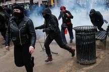 217 نفر در جریان درگیری پلیس آمریکا با معترضان به ریاست جمهوری ترامپ بازداشت شدند