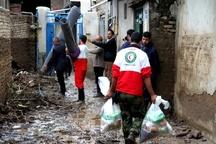 2844 حادثه دیده سیل همدان امداد رسانی شدند
