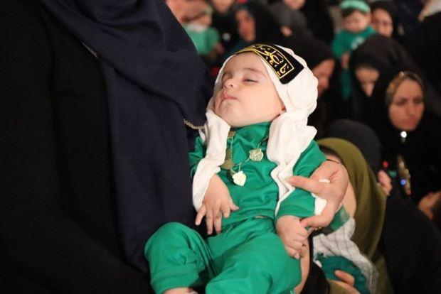 همایش شیرخوارگان حسینی در یزد برگزار شد