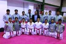 تیم کاراته لبنیات ارژن شیراز به مرحله پایانی لیگ آینده سازان کشور صعود کرد