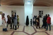 نمایشگاه نقاشی  ایران سرای من است در کرمان برپا شد
