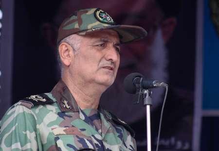 فرمانده قرارگاه ارتش در جنوب غرب: مهمترین فاکتور آمادگی نیروهای مسلح وحدت است