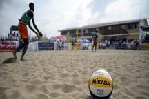 پایان مسابقات والیبال ساحلی نونهالان کشور در قزوین
