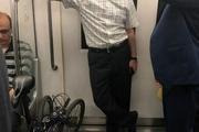 مترو سواری وزیر ارتباطات + عکس