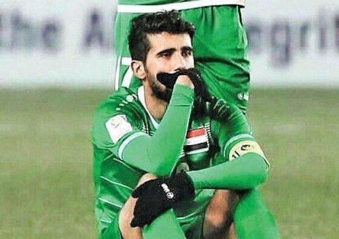 اشکهای بازیکن عراقی پرسپولیس همه را به گریه انداخت